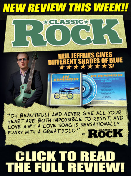 The reviews are in! Classic Rock says that'Oh Beautiful! and Never Give All Your Heart are both impossible to resist, and Love Ain't A Love Song is sensationally funky with a great solo.' Click to read the full review!
